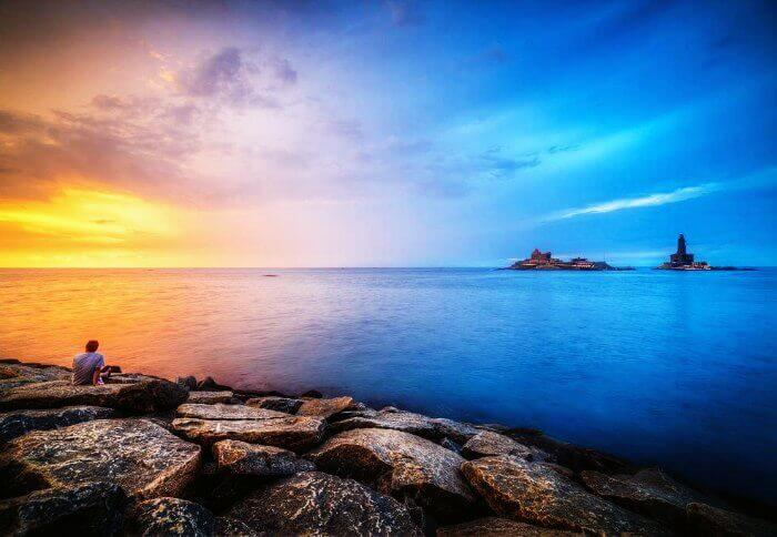 Kanyakumari: The Confluence of three seas