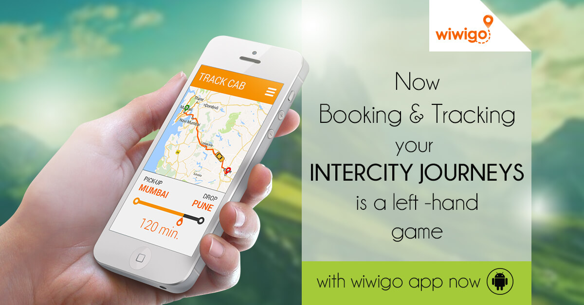 Now track your intercity journey for the first time in India with WIWIGO App
